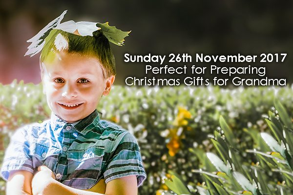 Mini Family Photoshoots - Book Now! 26th November 2017